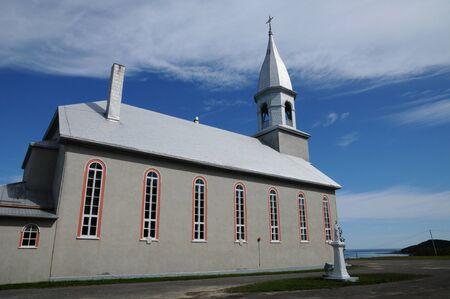 madeleine: Canada, Quebec, the historical church of Sainte Madeleine de la Riviere Madeleine