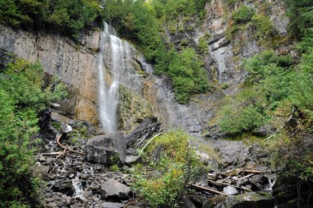 alexandre: Canada, Quebec, la Chute a Philomene in Saint Alexandre des Lacs