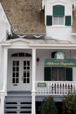 Canada, Quebec , Maison Alphose Desjardins in the city of Levis in Chaudiere Appalaches