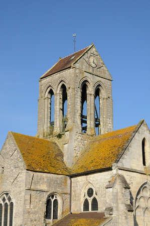 ry: Ile de France, the Saint Germain church  Stock Photo