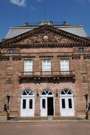 bas: France, Bas Rhin, Le Palais des Rohan in Saverne