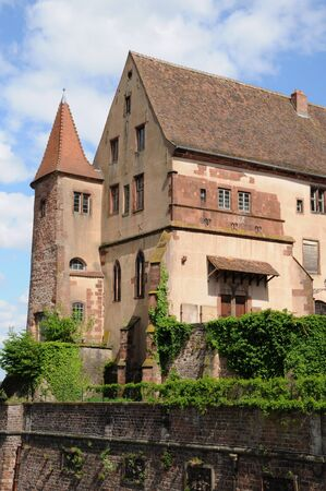 episcopal: France, Bas Rhin, old episcopal castle in Saverne