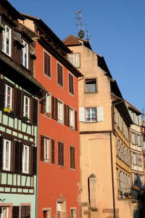 bas: France, Bas Rhin, old building in Strasbourg
