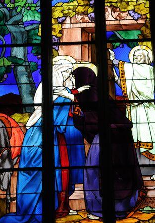 France, the Saint Jean du Baly church in Lannion Stock Photo - 17635306