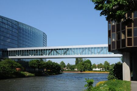 european parliament: France, Alsace, the European Parliament of Strasbourg