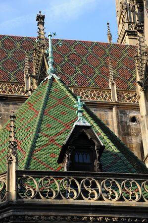 haut rhin: Alsace, the collegiate church Saint Thiebaut of  Thann in Haut Rhin