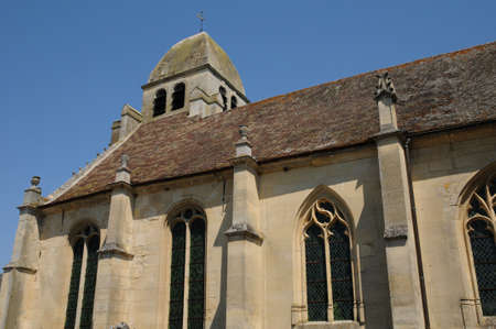 nicolas: Val d Oise, the Saint Nicolas church of Guiry en Vexin