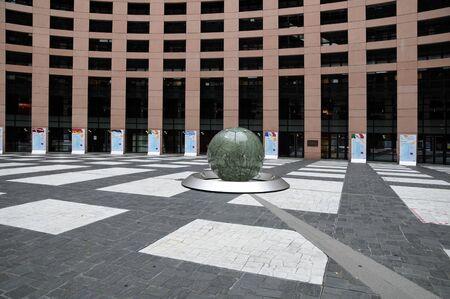 France, the European Parliament of Strasbourg Stock Photo - 17809421