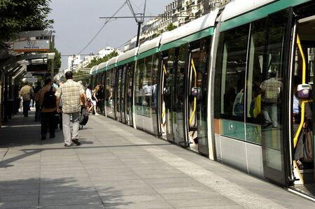 tramway: Ile de France, tramway in Paris