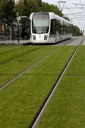 railborne vehicle: Ile de France, tramway in Paris