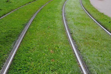 railborne vehicle: France, tramway rail in Strasbourg