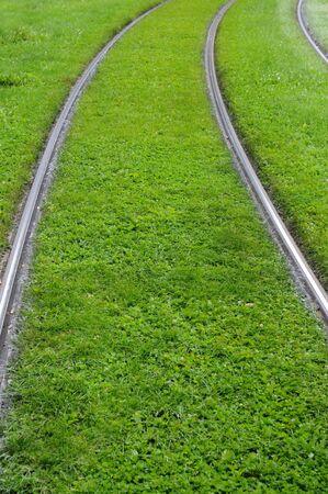 tramway: France, tramway rail in Strasbourg