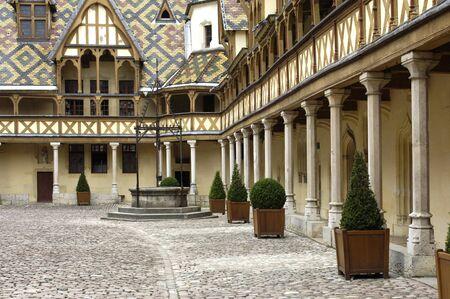 France, les hospices de Beaune en Bourgogne