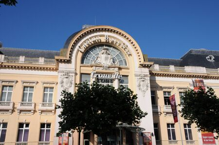 randomness: France, the Trouville sur Mer casino in Normandy