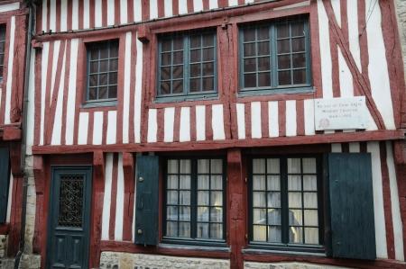 basse normandy: France, the house of Erik Satie in Honfleur