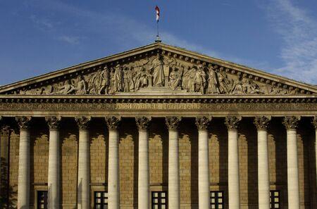 lows: France, Paris, Palais Bourbon, French parliament