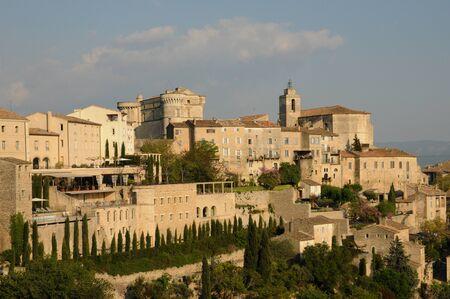 gordes: France, the village of Gordes in Provence