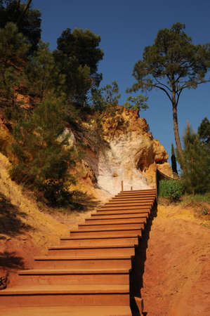roussillon: France, the Ochre Footpath in Roussillon