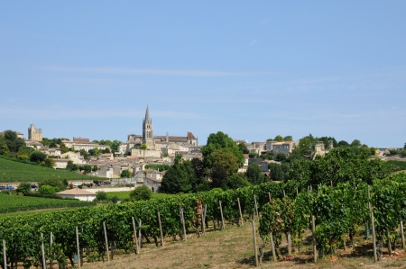 France, the city of Saint Emilion in Aquitaine