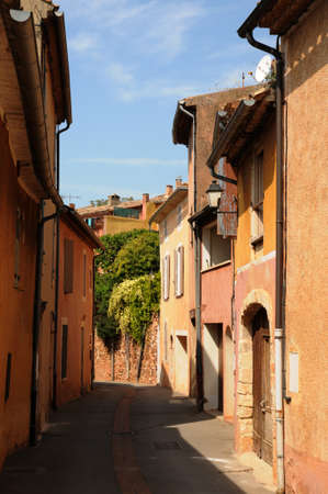 France, the village of Roussillon in Provence photo