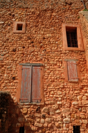 roussillon: France, the village of Roussillon in Provence Stock Photo