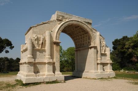 France, la ville historique de Saint Rémy de Provence
