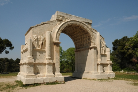 France, the historical city of Saint Remy de Provence