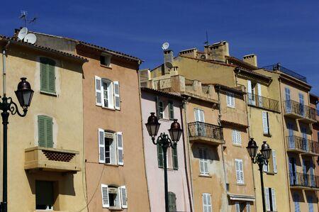 saint tropez: France, the picturesque city of Saint Tropez Stock Photo