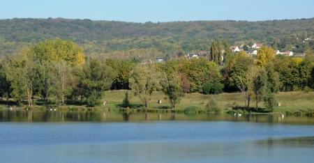 ile de france: Ile de France, Etang des Cerisaies in Vernouillet in Les Yvelines