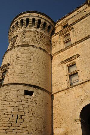 gordes: France, the castel of Gordes in Provence Stock Photo