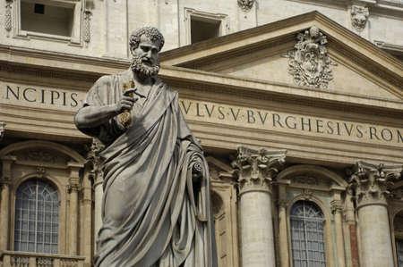 Italy, basilica Saint Peter in Vatican in Rome