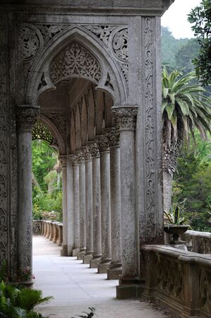 historica: Portugal, the Monserrate palace in Sintra
