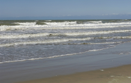 plage: France, the beach of  Stella Plage in Nord Pas de Calais