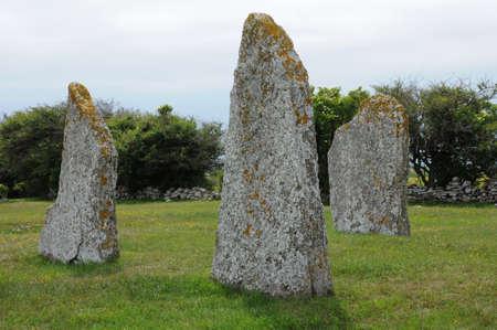 neolithic: Suecia, piedras neol?ticas en Seby
