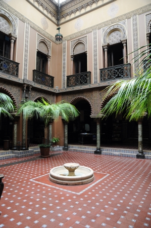 alentejo: Portugal, casa do Alentejo, an moorish style hotel in Lisbon