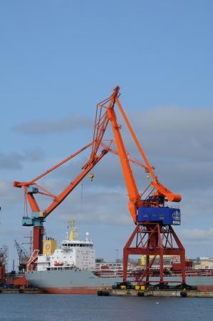 Sweden, the port of Goteborg