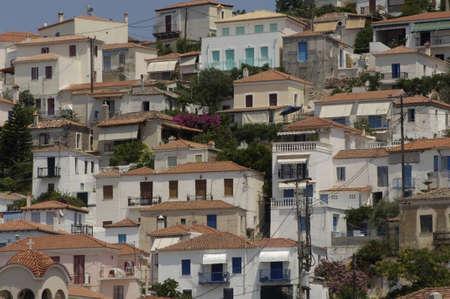poros: Greece, the picturesque island of Poros in Saronic gulf