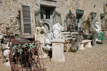 antiquary: Ile de France, tienda de antig�edades en Bois l Epicier granja en Houdan