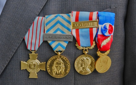 French military medals