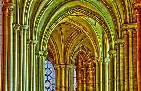 Caen, the abbaye aux Hommes in Normandie