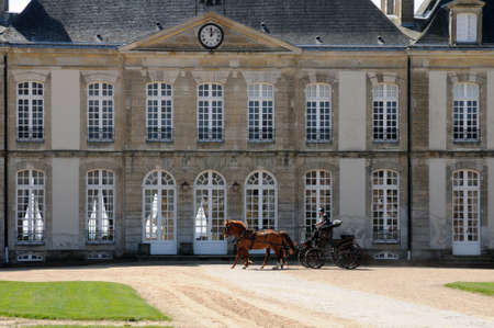 Francia, le Haras National du Pin en Normand�a