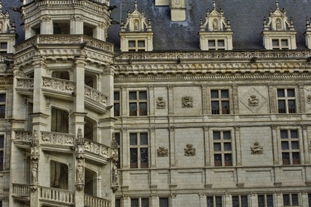 et: France, the castle of Blois in Loire et Cher Editorial