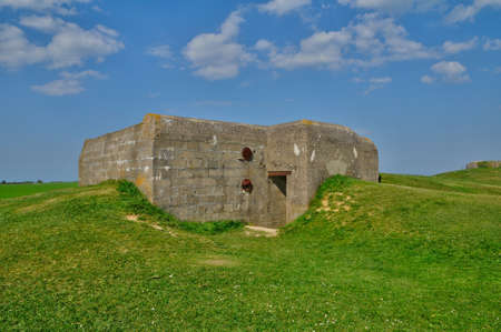 basse normandy: France, artillery battery of Longues sur Mer in Basse Normandie