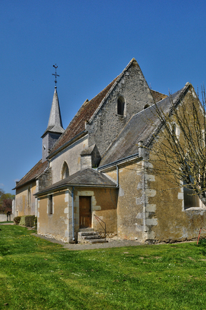 France, the village of Dame Marie in Normandie