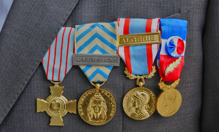 French military medals photo