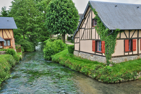 ry: France, the picturesque village of Ry in Seine Maritime