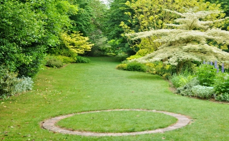 France, Les Jardins du Pays d Auge in Cambremer in Normandie