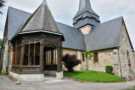 ry: France, the church of Ry in Seine Maritime