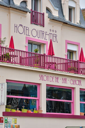 basse normandy: France, an hotel in Villers sur Mer in Normandie