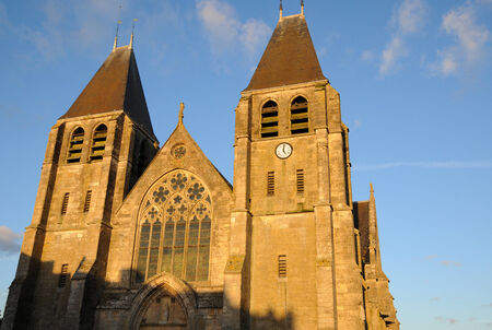 collegiate: France, the collegiate church of Ecouis in l Eure
